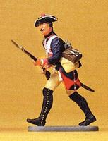 Preiser Prussian Army Musketeer Advancing Model Railroad Figure 1/24 Scale #54135