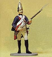 Preiser Prussian Army Grenadier with Musket Model Railroad Figure 1/24 Scale #54147