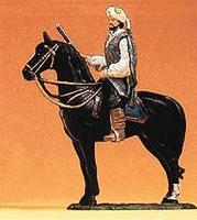 Preiser Arab Kara Ben Nemsi Mounted on Standing Horse Model Railroad Figure 1/25 Scale #54980