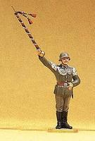 Preiser German Drum Major Standing Model Railroad Figure 1/25 Scale #56031