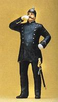 Preiser German Police Officer Circa 1900 Model Railroad Figure 1/24 Scale #57576