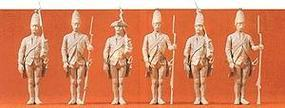 Preiser Prussian Standing Infantry with Muskets Model Railroad Figures 1/24 Scale #57809