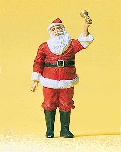 Preiser Kg Santa Claus with Bell -- Model Railroad Figures -- 1/32 Scale -- #63084