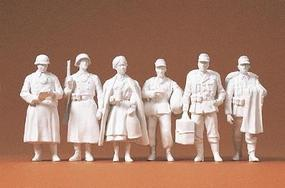 Preiser German Army WWII Home Leave Model Railroad Figures 1/35 Scale #64006