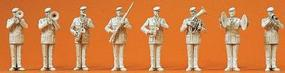 Preiser German Army Male Trombone Player Model Railroad Figures 1/35 Scale #64359