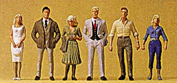 Preiser Passers-By Model Railroad Figures O Scale #65318