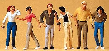 Preiser Passers-By Walking Model Railroad Figures O Scale #65321