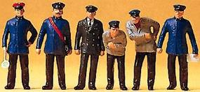 Preiser German Railway Personnel 1925-1930 Model Railroad Figures O Scale #65329