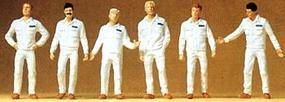 Preiser Mechanics In Coveralls Model Railroad Figures O Scale #65337