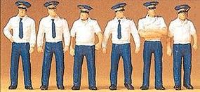 Preiser Soviet (USSR) Air Force in Summer Uniforms Model Railroad Figures 1/72 Scale #72408