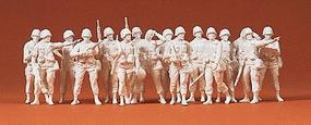 Preiser US/NATO Infantry Model Railroad Figures 1/72 Scale #72500