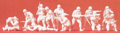 Preiser US/NATO Infantry Fighting Model Railroad Figures 1/72 Scale #72519