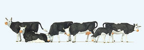 Preiser Cows Misc Scale Model Railroad Figure #73013