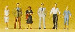 Preiser Passers-By Model Railroad Figures N Scale #79032
