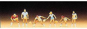 Preiser Tennis Players Model Railroad Figures N Scale #79041
