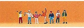 Preiser Pedestrian Children Model Railroad Figures N Scale #79044