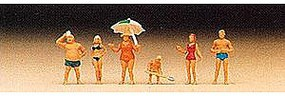 Preiser Family at the Beach Model Railroad Figures N Scale #79070