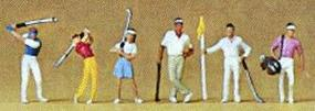 Preiser Golfers Model Railroad Figures N Scale #79072