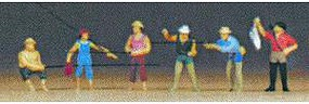 Preiser Fishermen Model Railroad Figures N Scale #79077