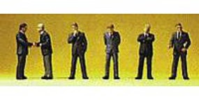 Preiser Businessmen Standing Model Railroad Figures N Scale #79113
