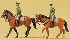 Preiser German Mounted Police Model Railroad Figures N Scale #79139