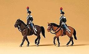 Preiser Guards on Horseback Model Railroad Figures N Scale #79151