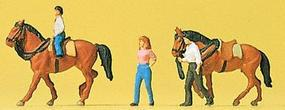 Preiser Horse Riders #1 Model Railroad Figures N Scale #79183