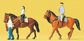 Preiser Horse Riders #2 Model Railroad Figures N Scale #79184