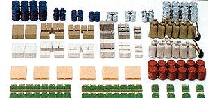 Preiser Assorted Cargo N Scale Model Railroad Building Accessory #79566