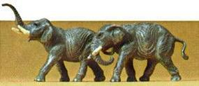 Preiser Elephants Model Railroad Figures N Scale #79710