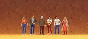 Preiser People Standing Model Railroad Figures 1/200 scale #80900