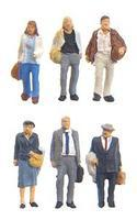 Preiser Travelers Model Railroad Figures 1/200 scale #80913