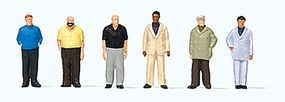 Preiser Standing Men Model Railroad Figures 1/20 Scale #80916