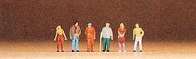 Preiser Pedestrians Passers-By (6) Model Railroad Figure Z Scale #88517