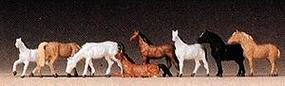 Preiser Horses Model Railroad Figure Z Scale #88578