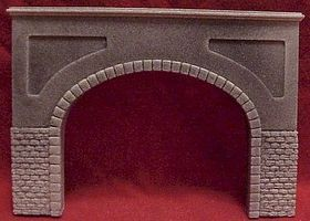 Pre-Size Double Cut Stone Tunnel Portal HO Scale Model Railroad Tunnel #106