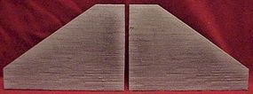Pre-Size Concrete Tunnel Abutment (2) HO Scale Model Railroad Miscellaneous Scenery #115