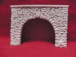 Pre-Size Random Stone Auto Portals HO Scale Model Railroad Tunnel #182