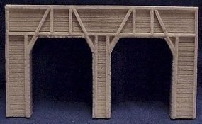 Pre-Size Tunnel portal dbl timber - N-Scale