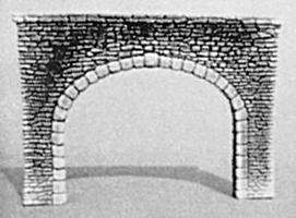 Pre-Size Double Random Stone Tunnel Portal N Scale Model Railroad Tunnel #204