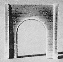 Pre-Size Single Concrete Tunnel Portal N Scale Model Railroad Tunnel #213