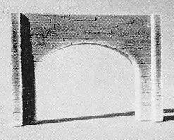 Pre-Size Double Concrete Tunnel Portal N Scale Model Railroad Tunnel #214