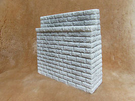 Pre-Size Dressed-Stone Bridge Abutment Model Railroad Miscellaneous Scenery #511