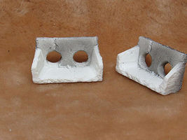 Pre-Size Old Concrete Culvert (2) Model Railroad Miscellaneous Scenery #525