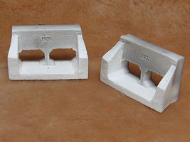 Pre-Size Concrete Culvert (2) Model Railroad Miscellaneous Scenery #526