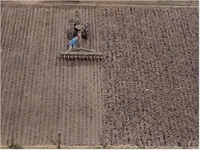 Pre-Size Model Specialities Plowed Field -- HO Scale Model Railroad Earth -- #701