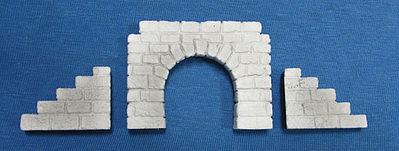 Cut stone tunnel portal 2 z scale model railroad tunnel for N scale tunnel portal dimensions