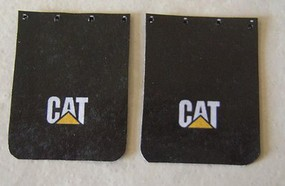 Plastic-Dreams 1/25 CAT Truck Mud Flap Set
