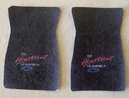 Plastic-Dreams 1/25 Heartbeat of America II Car Mat Set