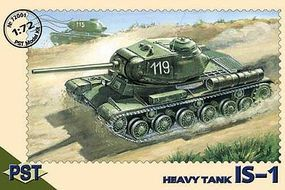 PST IS1 Soviet Heavy Tank Plastic Model Tank Kit 1/72 Scale #72001